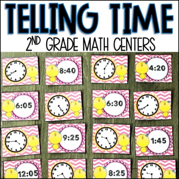 Time Centers for Second Grade
