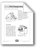 Time Changes the Job (Long Vowel Sound 'i')