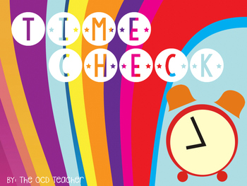 Telling Time: Time Check *DIFFERENTIATED*