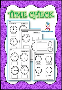 Time Check - Clock Reading