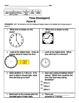 Time Checkpoint