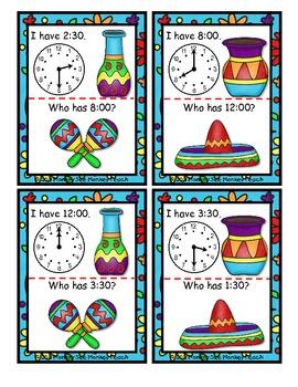 Time: Cinco De Mayo Fiesta Time 1(Hour and Half Hour)