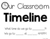 Time: Classroom Timeline