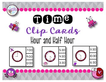 Time Clip Cards