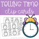 Time Clip Cards: Hour & Half Hour
