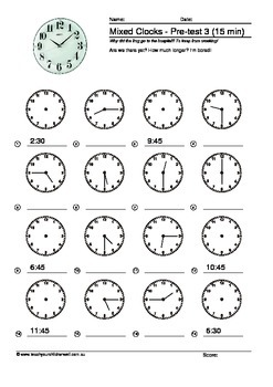 Time (Clocks) - 70 + pages