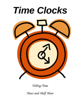 Time Clocks Game - Hour and Half Hour