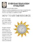 Time - Clocks - Half past / Quarter past and to / O'clock