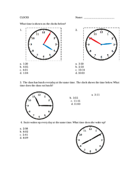 Time - Clocks and Elapsed Time