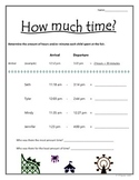 Time: Computing hours and minutes