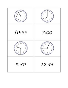Time Concentration Five Minute Intervals Game B