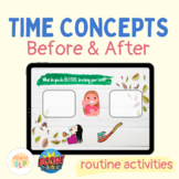 Time Concepts: Before & After (routine activities)