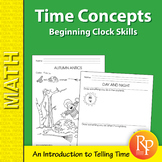 Time Concepts: Beginning Clock Skills