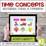 Time Concepts Practice BOOM CARD™ Deck - Distance Learning