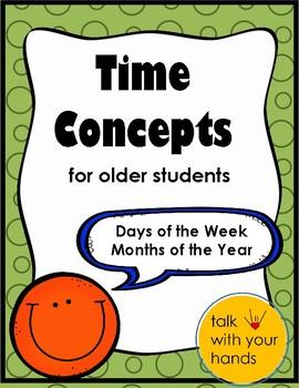 Time Concepts for Older Children - Full Version