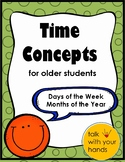 Time Concepts for Older Children - Full Version