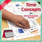 Time Concepts - Speech Language Tx - Months Seasons Holidays