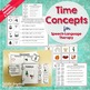 Time Concepts for Speech Language Therapy - Months, Season
