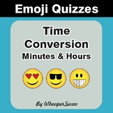 Time Conversion Emoji Quiz (Minutes & Hours)