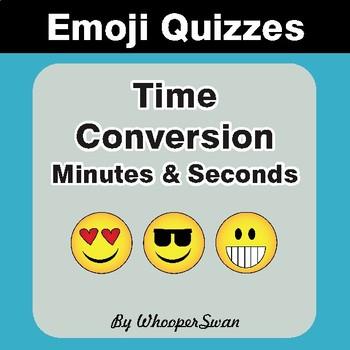 Time Conversion Emoji Quiz (Seconds & Minutes)