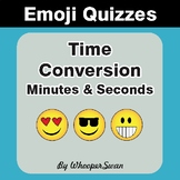 Time Conversion Emoji Quiz (Seconds & Minutes)