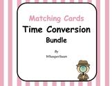 Time Conversion Matching Cards Bundle