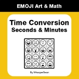 Time Conversion: Seconds & Minutes - Emoji Art & Math - Dr