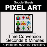 Time Conversion: Seconds & Minutes - Google Sheets Pixel A