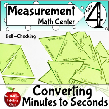 Time Converting from Minutes to Seconds