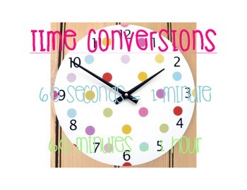 Time Conversions Visual