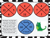 Time Crunch Bingo Center Game: Telling Time 1.MD.3