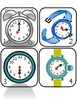 Time Detectives - Telling Time to Five minutes Games and Scavenger Hunts