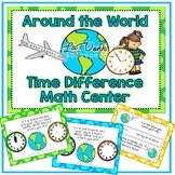 Telling Time Word Problem Center - Time Elapsed Cards