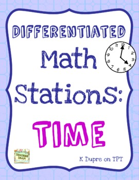 Telling Time Math Stations