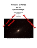 Time, Distance and the Speed of Light
