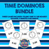 Time Dominoes BUNDLE: Telling Time Games