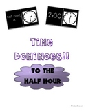 Time Dominoes! (To the Half Hour)