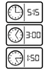 Time Dominos - Math Measurement Activity For Telling the Time to 5 Minutes