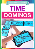 Time Dominos - Math Measurement Activity For Telling the T