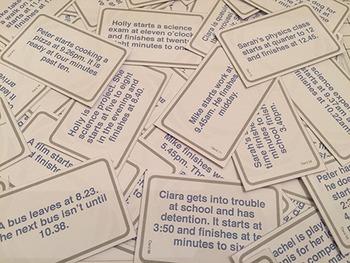 Time Elapsed Bingo   Easily Prepared Printable Quickfire Game