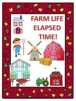 Elapsed Time: Worksheets (Farm Life)