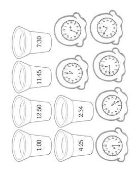 Time, Elapsed Time, & Periods of Time - Math Lesson Unit with Materials