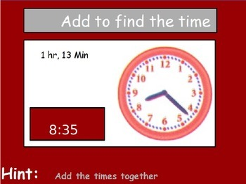 Time - Elapsed Time; Real World Math (POWERPOINT)
