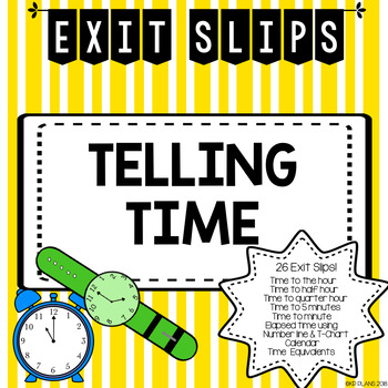 Time Exit Slips
