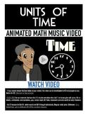 Time & Calendar | FREE Poster, Worksheet, & Fun Video | 1st-3rd Grade