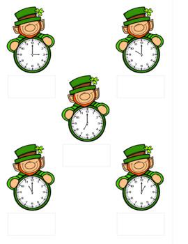 File Folder Activities • Leprechaun Time