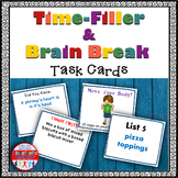 Brain Breaks - Time Filler Fun!