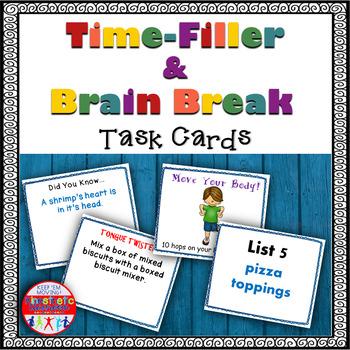 Brain Breaks - Time Filler Fun!
