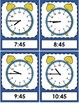 Telling Time Flash Cards