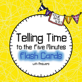 Time Flash Cards | To the Five Minutes